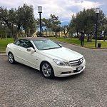 auto-sposi-Napoli_mercedes-cabrio_auto-per-cerimonie-Napoli