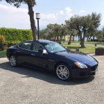 Auto-sposi-Napoli-profilo-Maserati-auto-matrimoni-Napoli