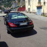 auto-sposi-Napoli_Mercedes-nera_auto-per-cerimonie