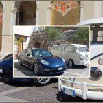 auto-sposi-Napoli_porsche-e-T1_auto matrimonio-Napoli