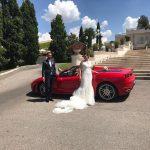 auto sposi Napoli | Ferrari | auto matrimonio Napoli