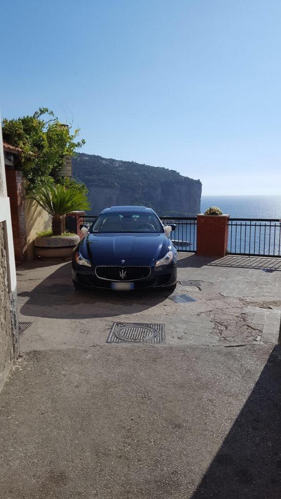 auto sposi Napoli | Maserati Q4 | auto matrimoni