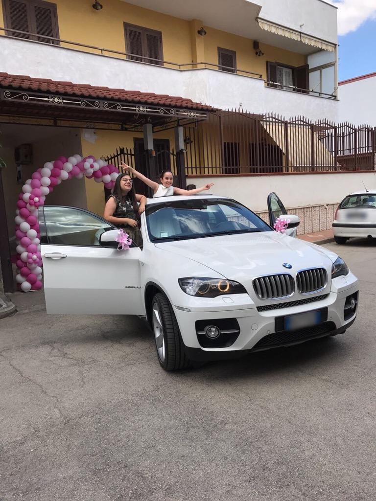 auto sposi Napoli | BMW X6 | auto nozze