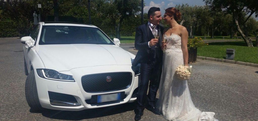auto sposi Napoli | Jaguar | auto cerimonie Campania