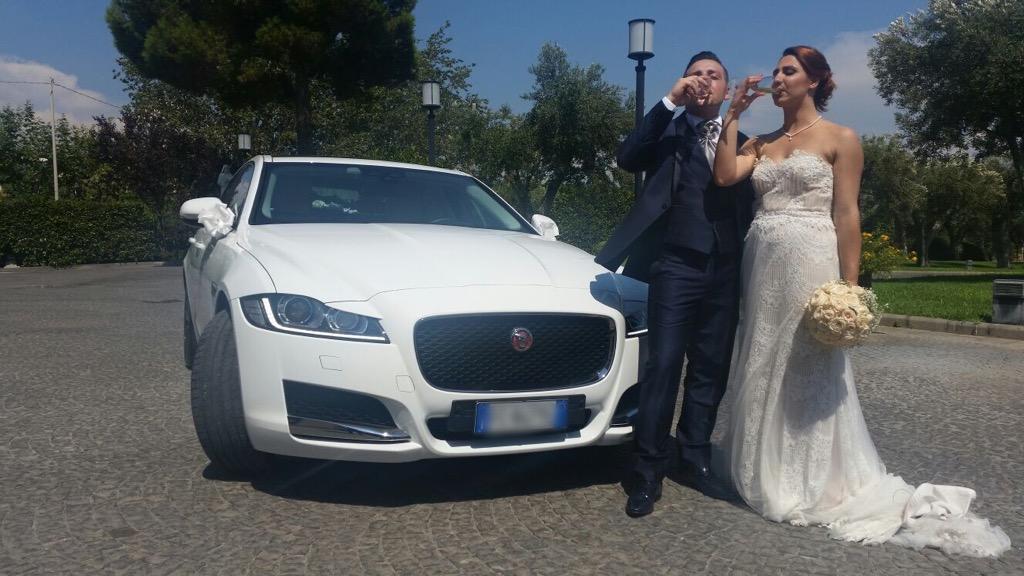 auto sposi Napoli | Jaguar New | auto matrimoni