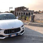 auto sposi Napoli | Maserati Levante | auto matrimonio