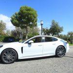 auto sposi Napoli | Porsche bianca New | noleggio auto sposi Napoli