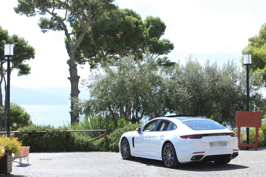 auto sposi Napoli | New Panamera | auto nozze Napoli