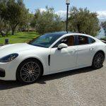 auto sposi Napoli | Porsche panamera new | auto per cerimonie