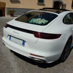 auto sposi Napoli | Panamera bianca new | auto cerimonie Napoli
