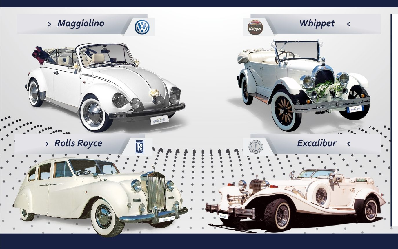auto sposi Napoli | catalogo auto d'epoca | auto cerimonie Napoli