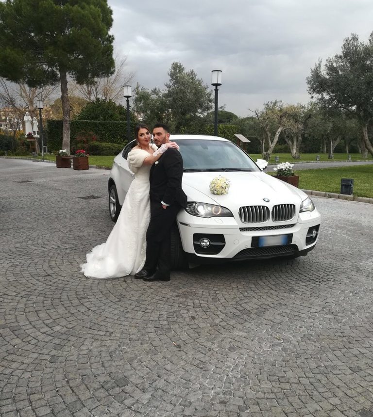 auto sposi Napoli | BMW X6 | auto per cerimonie Napoli prezzi