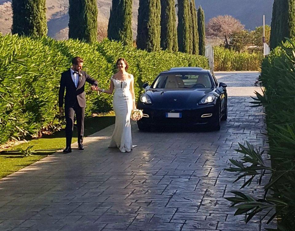 auto sposi Napoli | Panamera | noleggio auto cerimonie Napoli