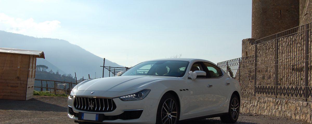 auto sposi Napoli | Maserati gran lusso | noleggio auto sposi Napoli