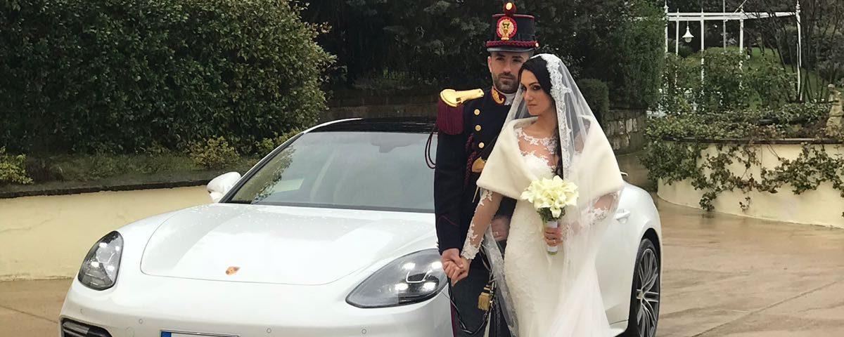 auto sposi Napoli | Porsche New | noleggio per cerimonie