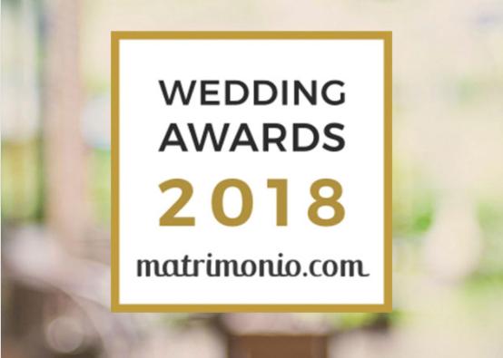 L'immagine rappresenta il nostro premio dato da matrimonio.com come migliori nel settore di noleggio auto per cerimonie.