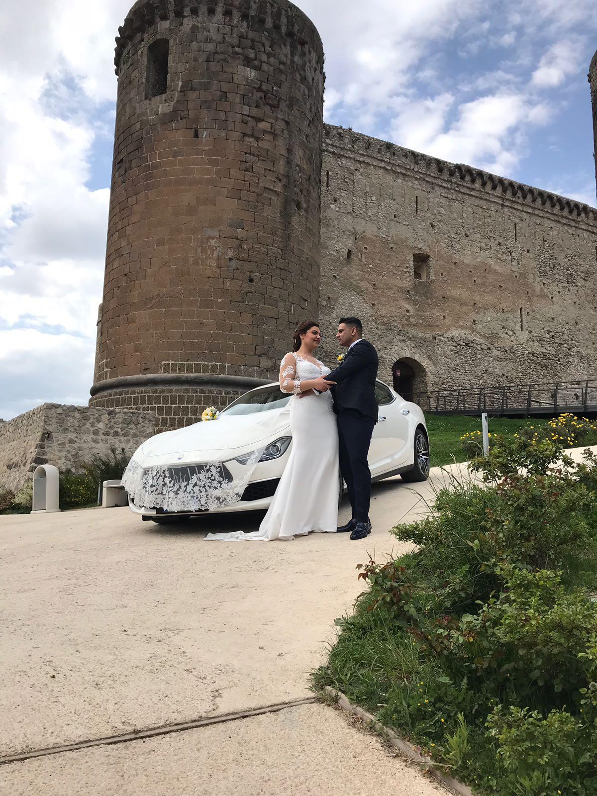 auto sposi Napoli | autonoleggio Maserati GRAN LUSSO | auto cerimonie Napoli